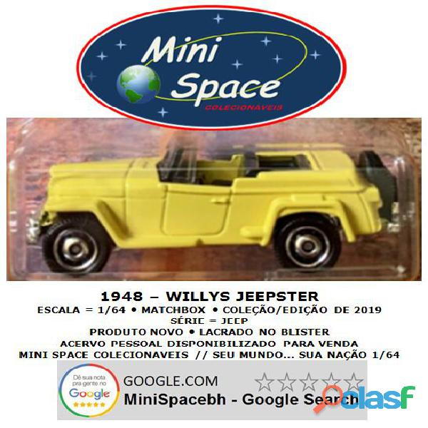 Matchbox 1948 Willys Jeepster 1/64 1