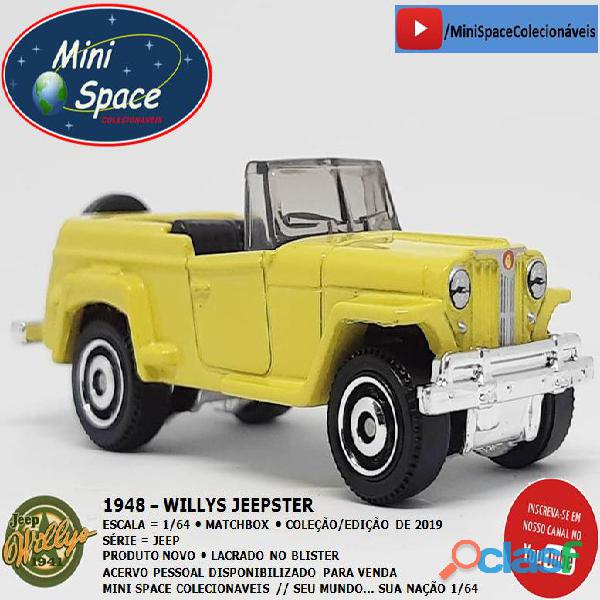 Matchbox 1948 Willys Jeepster 1/64 5