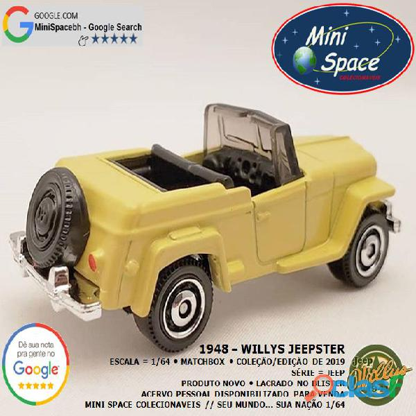 Matchbox 1948 Willys Jeepster 1/64 6