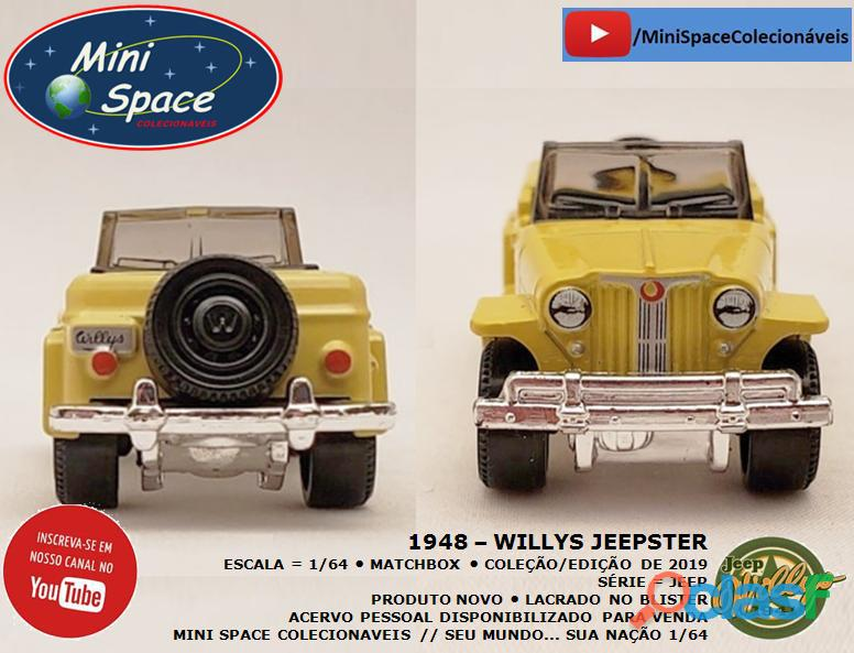 Matchbox 1948 Willys Jeepster 1/64 7