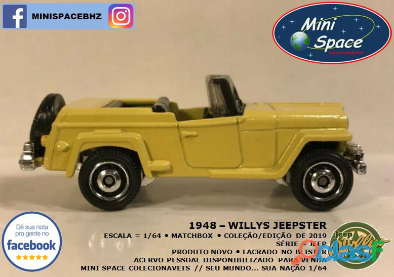 Matchbox 1948 Willys Jeepster 1/64 4