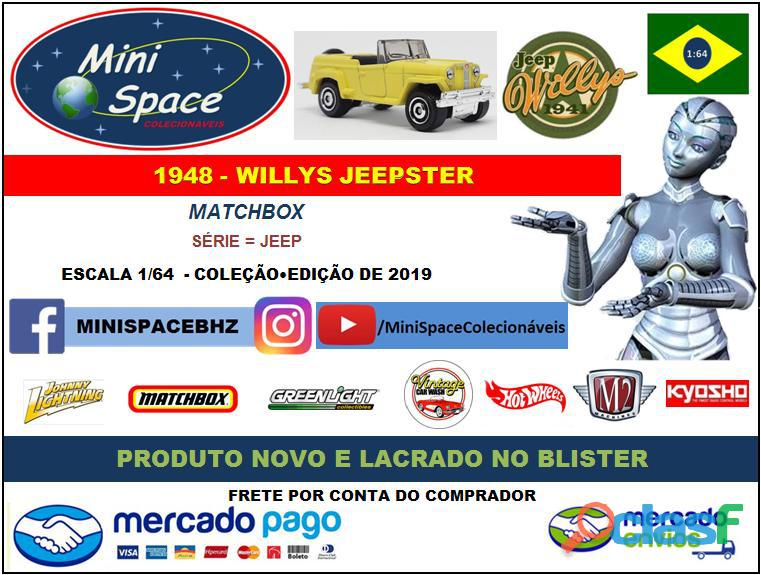 Matchbox 1948 Willys Jeepster 1/64 2