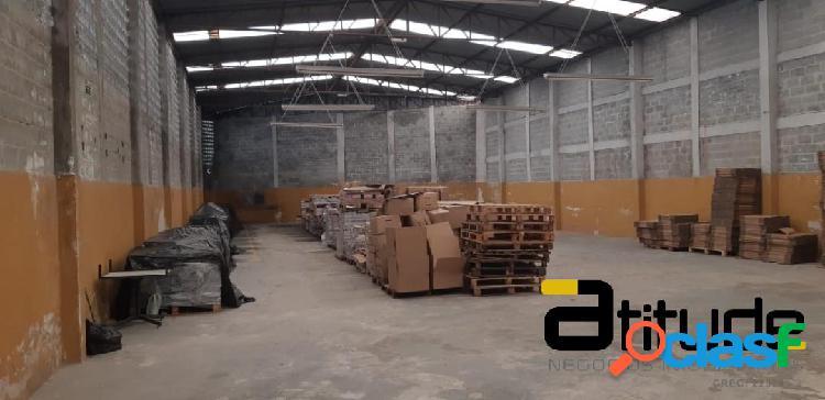 Galpão industrial com 690 m² em barueri