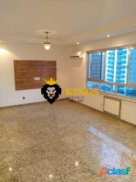 Dois dormitórios c/ suíte+dependência ampla+garagem+gonzaga