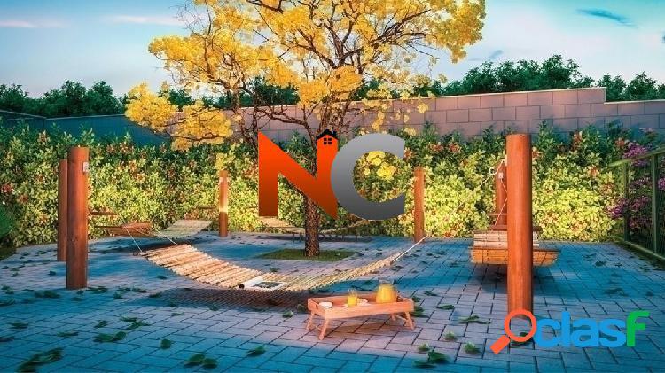 Conquista jardins - apto 2 dorms com garden, campo grande, rj - r$ 164 mil.