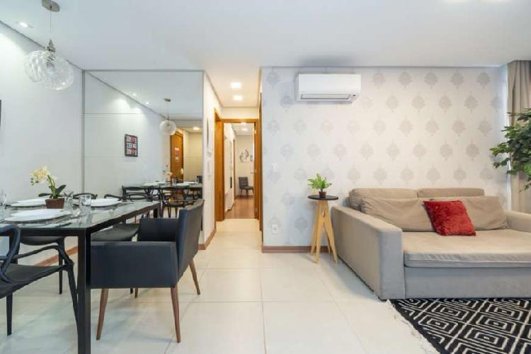 Apartamento 2 dormitórios mobiliado, equipado e decorado!!