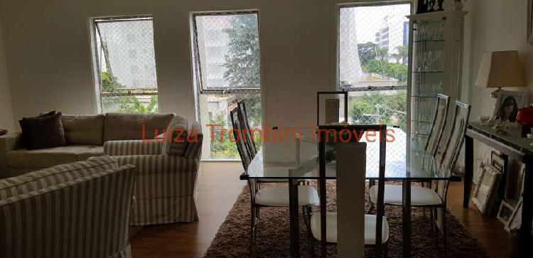 Apartamento mobiliado para locação, 2 dts, 96 m², na