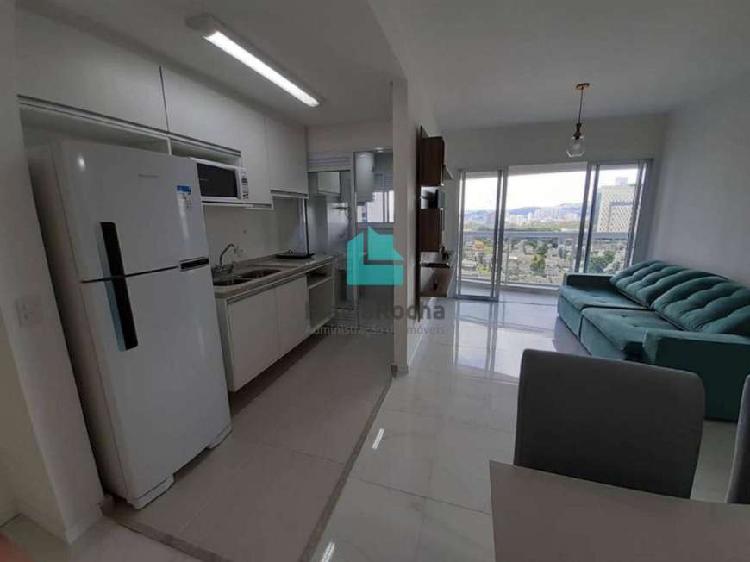 Apartamento para aluguel tem 50 metros quadrados com 1
