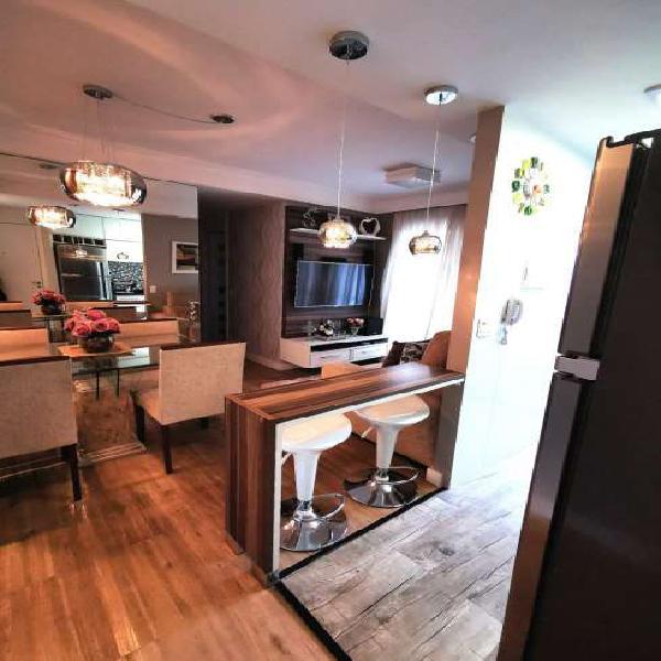 Apartamento para venda com 56 metros quadrados com 3 quartos