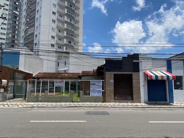 Casa comercial 350m2 com 5 salas na rua tijucas, centro de