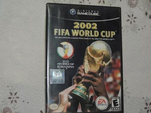 2002 fifa world cup game cube original americano