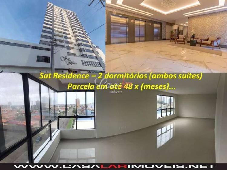 Apartamento a venda tramandaí, sat residence, 2