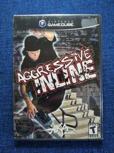 Aggressive inline game cube gamecube novo lacrado