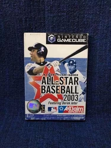 All-star baseball 2003 game cube original jap