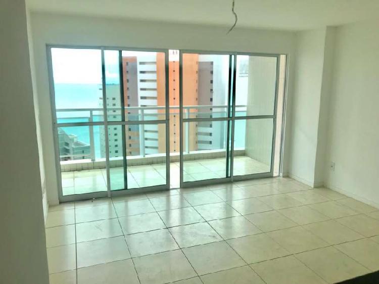 Apartamento novo vista mar com 3 suítes