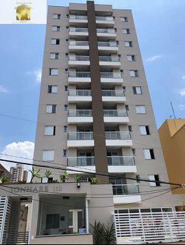 Apto novo 52 m² 2 Dormitórios 1 vaga Varanda com