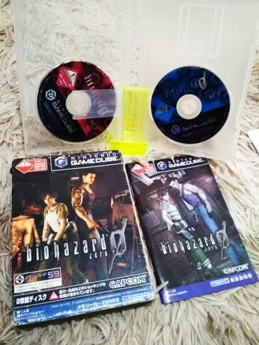 Bio hazard zero gamecube original completo japonês