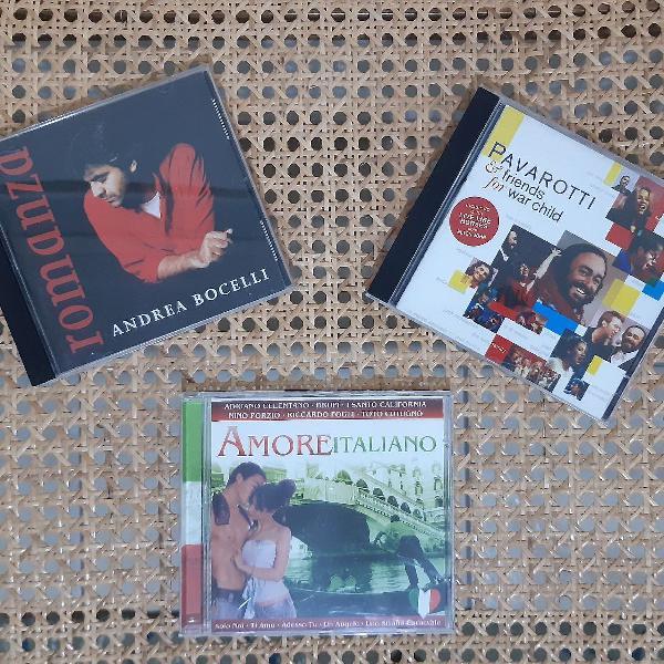 Bravo, bravíssimo! trio de cds