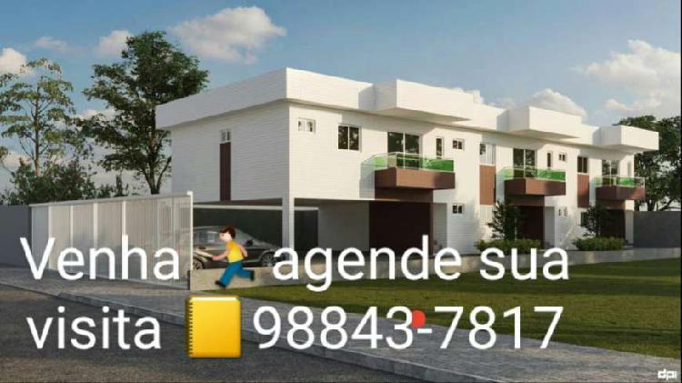 Casa de condomínio para venda possui 75 metros quadrados