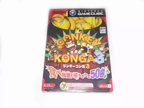 Donkey konga 3 + pôster - gamecube
