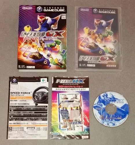 Gamecube f-zero gx original japonês excelente estado