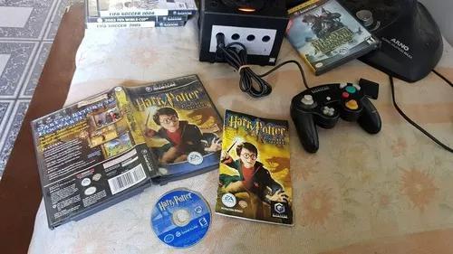 Harry potter a câmara secreta na caixa para o game cube