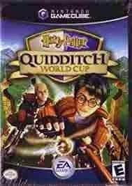 Harry potter quiddtch world cup usado - nintendo gamecube