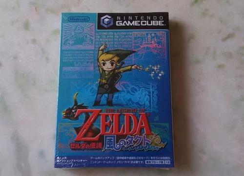 Legend of zelda takt of wind gamecube japonês lacrado!!!