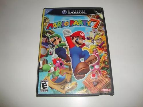 Mario party 7 americano completo para game cube