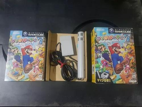 Mario party 7 nintendo gamecube japones original com microfo