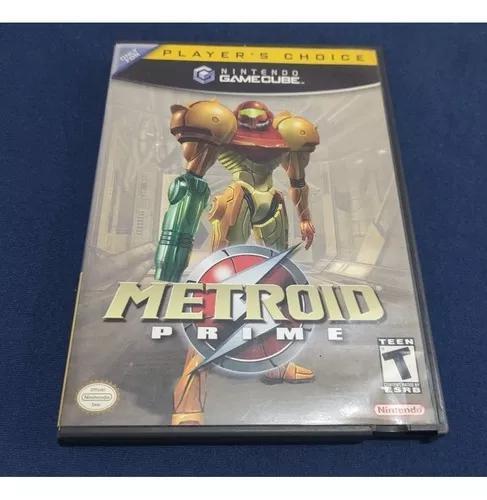 Metroid prime nintendo gamecube original completo c/garantia