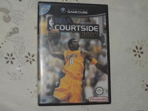 Nba courtside 2002 nintendo gamecube original leia