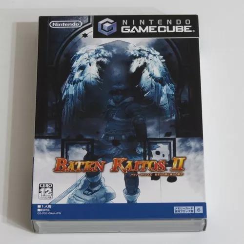 Nintendo gamecube - baten kaitos 2 japonês usado completo
