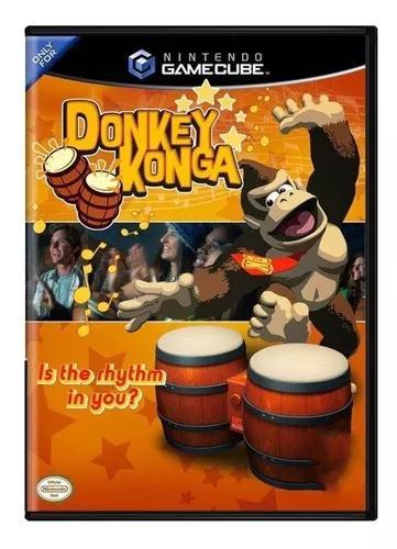 Nintendo gamecube donkey konga original completo