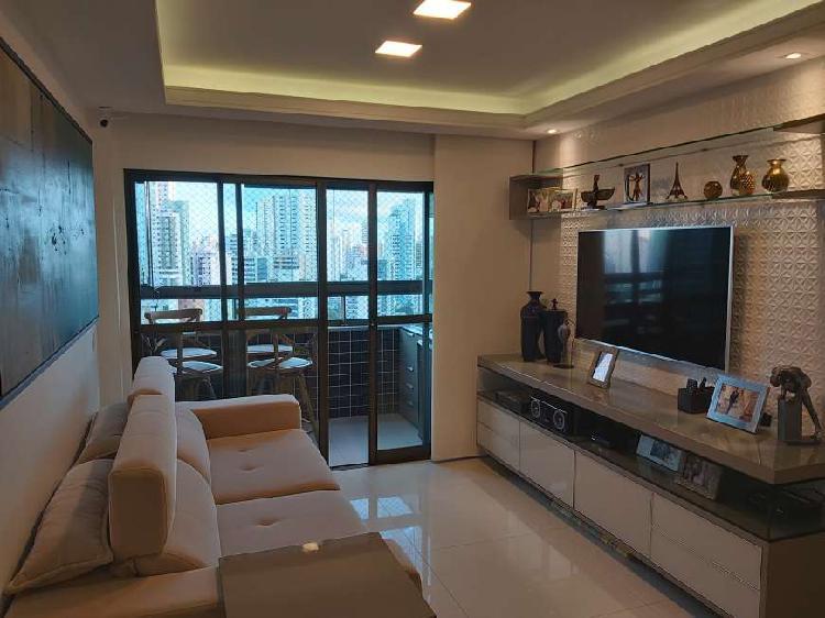 Oportunidade única - apartamento novo e mobiliado, 99m². .