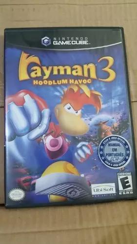 Rayman 3 hoodlum havoc nintendo gamecube
