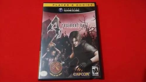 Resident evil 4 nintendo game cube original completo
