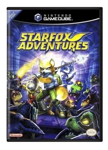 Star fox adventures - gc - gamecube - usado original