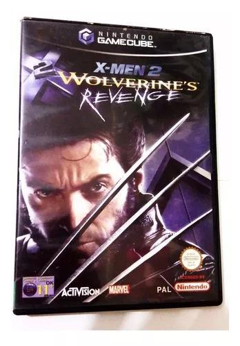 X-men 2 wolverine 's revenge nintendo game cube jogo