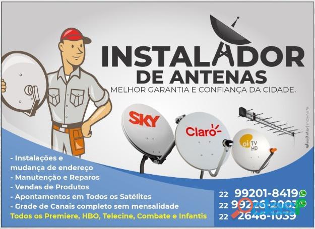 Am antenas instalações