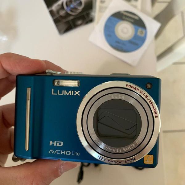 Câmera digital panasonic lumix dmc-zs7 - zoom 12x ótico