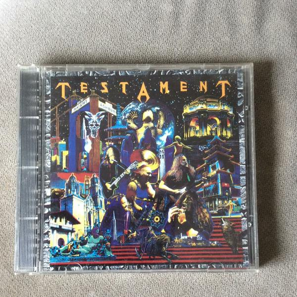 Testament - live at the fillmore cd original