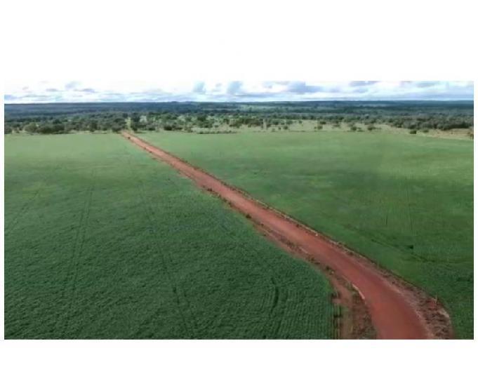 253 alq. estuda prazo e proposta terra plana vermelha argil.