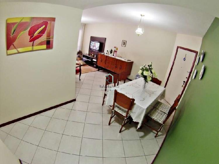 Apartamento de 3 quartos com suíte a 100 metros da praia na