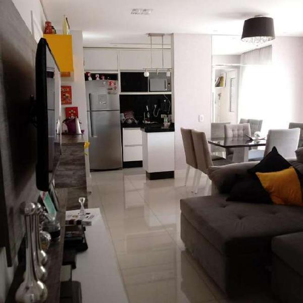 Apartamento para venda possui 53 metros quadrados com 2