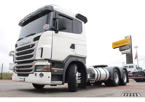 Caminhão scania g 420 traçado bug leve 2010 = r450 fh460