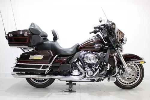 Harley davidson electra glide ultra classic 2011 vermelha