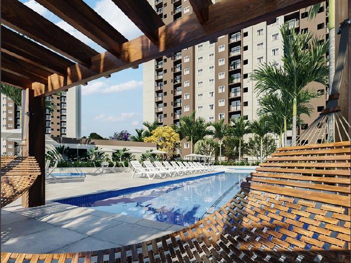 Jacarepaguá, 2 quartos, 1 vaga, 45 m² estrada dos