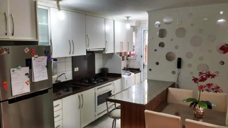 Lindo apartamento garden 03 dormitórios mobiliado no sítio
