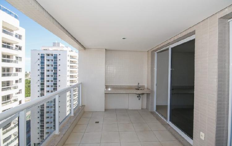 Maravilhoso apartamento de 2 quartos no ilha pura na barra